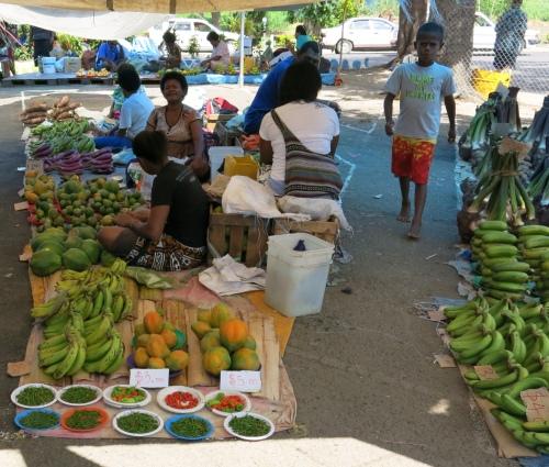 The Fruit Market in Nadi